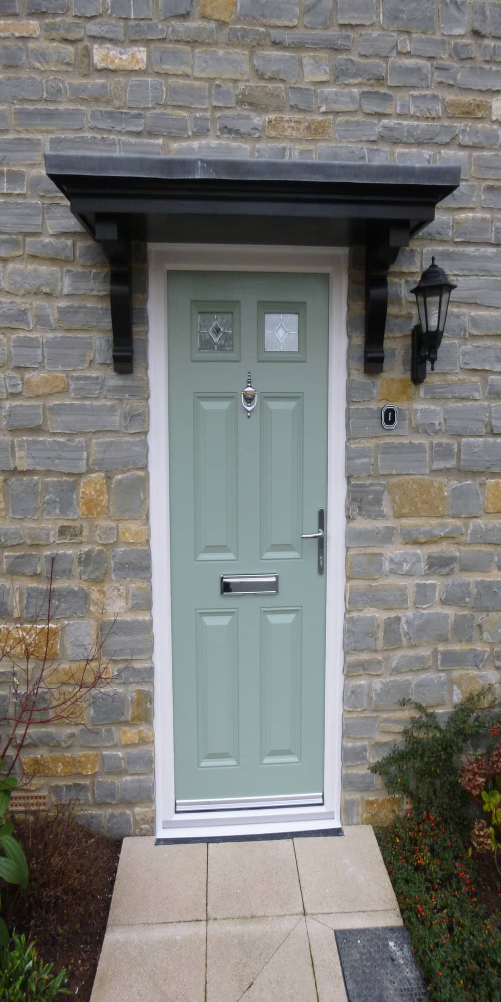 new green composite door